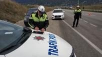 Samsun'da 1 Saatte 12 Araca Radar Cezası