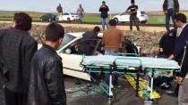 Şanlıurfa'da Trafik Kazası Açıklaması 4 Yaralı