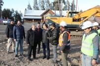 KARS VALISI - Sarıkamış'ta Kayak Sezonu Öncesi Çalışmalar Sürüyor