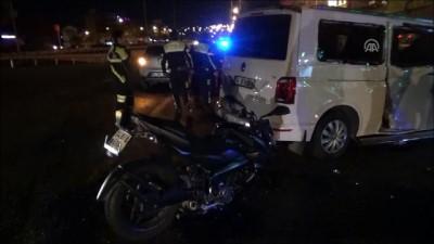 Silivri'de Trafik Kazası Açıklaması 1 Yaralı