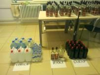 VOTKA - Simav'da Kaçak İçki Operasyonu