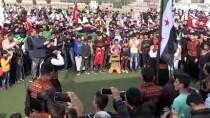 Suriyelilerden Terör Örgütü YPG/PKK'ya Protesto