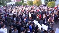 Suudi Arabistan'ın İstanbul Başkonsolosluğu Önünde Yemen Protestosu
