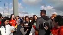 DOĞUM GÜNÜ PASTASI - Vodafone 40. İstanbul Maratonu'nda Sürpriz Doğum Günü Kutlaması