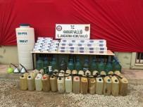 Yüksekova'da 5 Bin 250 Paket Kaçak Sigara Ele Geçirildi