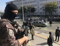 Adliye çıkışında silahlı saldırı