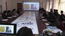 AFAD'dan Lise Öğrencilerine Eğitim