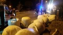 Afyonkarahisar'da Trafik Kazası Açıklaması 1 Ölü, 5 Yaralı