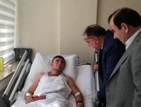 AK Parti Milletvekillerinden, Süngü Tepe Yaralılarına Ziyaret