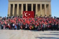 KURTULUŞ SAVAŞı - Aliağa Belediyesi'nden Anıtkabir'e Bin 200 Kişilik Çıkarma