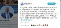 ANTALYASPOR - Antalyaspor'da 'Temlik' Krizi