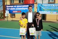 Atatürk'ü Anma Hafta Sonu Tenis Turnuvası Sona Erdi