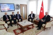 AHMET TAN - Başkan Çetinbaş Ve Milletvekillerinden Vali'ye 'Hayırlı Olsun' Ziyareti