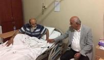 Başkan Seyfi Dingil'den Hastalara Moral Ziyareti