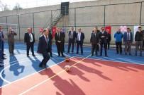 Beyşehir'de Bir Liseye Daha Çok Amaçlı Saha Kazandırıldı