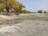 CEP TELEFONU - Eğirdir Gölü'nde Su Çekildi, İskele Ortada Kaldı