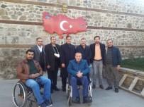 ŞEHİT YAKINLARI - Engelliler Meclisinden Gazi Saylanlar'a Destek Ziyareti
