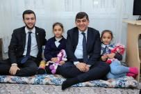 Fadıloğlu İle Yüksel, Aile Ziyaretleri Gerçekleştirdi