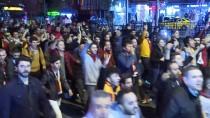 SPOR TOTO SÜPER LIG - Galatasaraylı Taraftarlardan TFF Protestosu