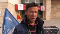 Güneş Enerjili Bisikletle Fransa'dan Erzincan'a Geldi