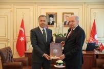 MEVLÜT UYSAL - İstanbul Valisi Yerlikaya'dan İBB Başkanı Uysal'a İade-İ Ziyaret