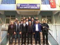 ŞEHİT YAKINLARI - Kahraman Polisin Babası Sason'da Şehit Yakınlarıyla Bir Araya Geldi