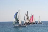 OPTIMIST - Konyaaltı'nda Yat Ve Yelkenler Atatürk Kupası İçin Yarıştı
