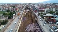 Köseköy'de Yol Çalışmaları Tamamlanıyor