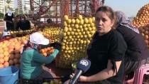 HELIKOPTER - Narenciyenin Kadın Emekçileri Şimdi De Figürlere Hayat Veriyor