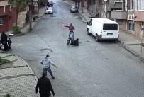 CEP TELEFONU - (Özel) Sultangazi'de Bıçaklı Yaralama Kamerada