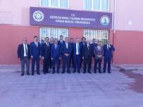 Rektör Akın Levent, Kemah'ta Öğrencilerle Bir Araya Geldi