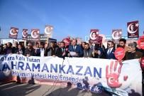 ŞEHİT YAKINLARI - Şehit Yakınları Ve Gazilerden Kahramankazan Belediye Başkanı Ertürk'e Destek