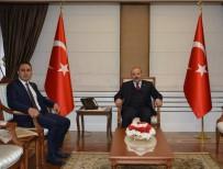 TRABZON VALİSİ - Trabzon Cumhuriyet Başsavcısı Tuncel'den Trabzon Valisi Ustaoğlu'na Hayırlı Olsun Ziyareti