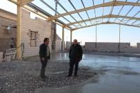 Uçhisar Belediyesi, Kademe Binasının İnşaatı Devam Ediyor