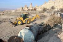 KAÇAK YAPI - Üzeri Toprakla Kapatılmıştı Açıklaması Bugün Yıkıldı