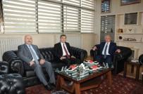 Vali Şahin, Rektör Durmuş'u Ziyaret Etti
