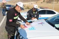 TRAFİK TESCİL - Yozgat'ta Drift Yapan 5 Sürücüye 25 Bin 50 Lira Ceza Kesildi