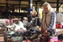 MILLIYET GAZETESI - 70'Li Yılların Ünlü Sanatçısı Serpil Örümcer Pazar Tezgahı Başında