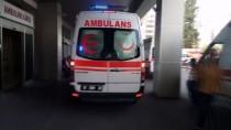 Adana'da İnşaattan Düşen İşçi Yaralandı