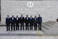 ZİYARETÇİLER - Anadolu Üniversitesi Rektörü Çomaklı'ya Ziyaretler