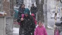 Ardahan'da Kar Yağdı