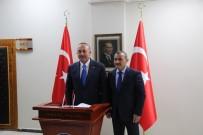 Bakan Çavuşoğlu Tunceli'de