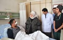 GEÇMİŞ OLSUN - Bakan Selçuk, Şemdinli'de Yaralanan GATA'da Tedavi Gören Gazileri Ziyaret Etti