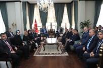 Belediye Başkanı Kara'dan Vali Soytürk'e Hoş Geldin Ziyareti