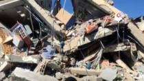 SALDıRı - Bombalanan 'Al-Aksa' Kanalının Enkazı Görüntülendi