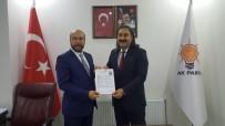 BELEDİYE BAŞKANLIĞI - Cengiz Şahin, Tatvan Belediye Başkanlığı İçin Aday Adaylık Başvurusunu Yaptı