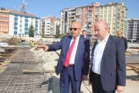 İFTAR ÇADIRI - Cumhurbaşkanı Erdoğan'ın Talimatıyla Başlayan Kent Meydanı Projesi Hızla İlerliyor