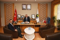 BİLİM ADAMI - Dekan Pirinççi'den Başkan Taban'a Ziyareti