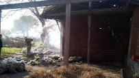 Edremit'te Ahır Yangını