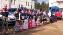 PARMAK - Engelli Öğrenciler Jandarma Komutanlığını Ziyaret Etti